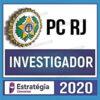 Rateio PC RJ (Polícia Civil do Rio de Janeiro) 2020 - Investigador (ESTRATÉGIA)