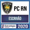 Rateio PC RN (Polícia Civil do Rio Grande do Norte) 2020 - Escrivão + Passo Estratégico (ESTRATÉGIA)
